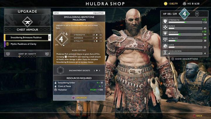 1 - Какое оборудование стоит создавать у кузнеца в God Of War?  - God Of War - Руководство игры