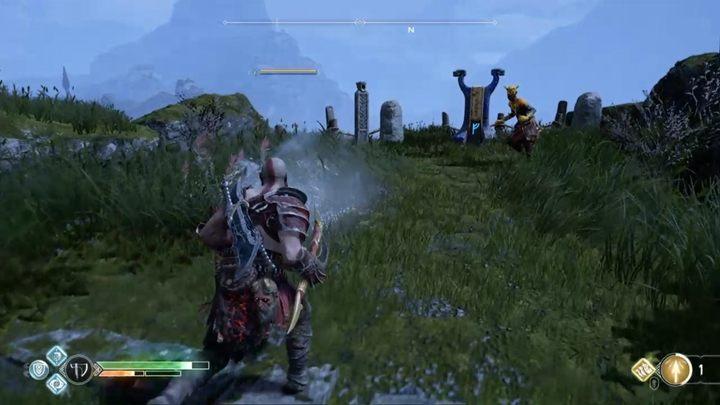 Вы найдете первый алтарь за деревянным мостом - его легко найти - освободите драконов в God of War - God Of War - Game Guide и Walkthrough