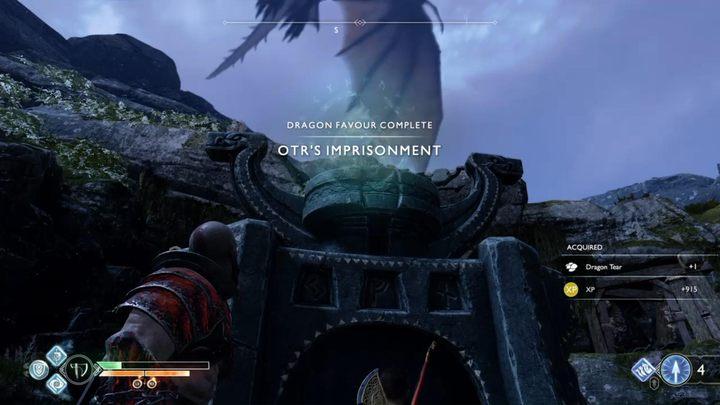 Призы за задание: Редкое заклинание, разрыв дракона, 615 XP - Бесплатные драконы в God of War - God Of War - Руководство по игре и пошаговое руководство