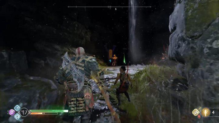 Третий алтарь находится в другом месте - вам нужно подняться на скалу и войти в пещеру. Освободите драконов в God of War. God Of War - Game Guide и Walkthrough