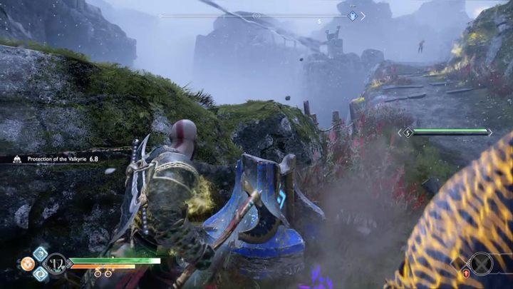 Комментарий: вы найдете первый алтарь недалеко от дороги, по которой вы шли рядом с драконом. Освободите драконов от Бога войны. God Of War - Game Guide и Walkthrough