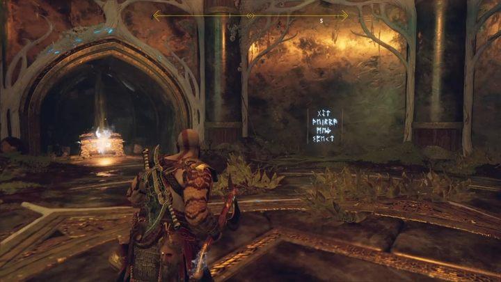 Второй фрагмент находится в скрытой камере Тайры, за коридором, полным измельчающих ловушек - Нифльхайм в God of War - God Of War - Game Guide и Walkthrough