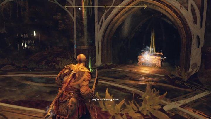 Третий фрагмент также находится в Скрытой комнате Тиры - Нифльхайма в God of War - God Of War - Game Guide и Walkthrough