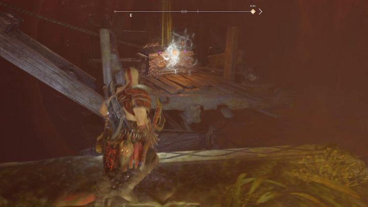 Последний фрагмент находится в брюхе Йормунганда, рядом с сундуком с глазом Митра - Нифльхайм в Боге войны - God Of War - Game Guide и Walkthrough