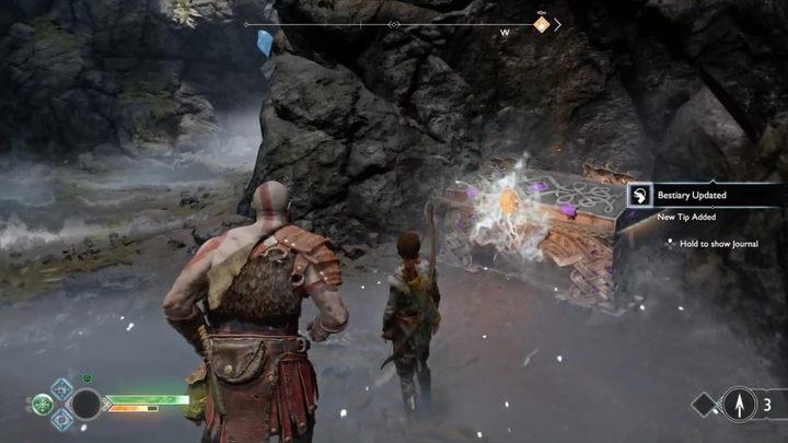 Третий фрагмент можно найти в районе между побережьем N и предгорьями - Muspelheim в God of War - God Of War - Game Guide и Walkthrough