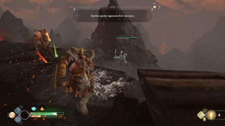 Испытание II: Трудно - Муспелхайм в Боге войны - God Of War Game Guide