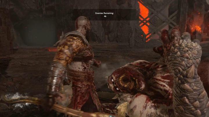 Пример IV: Нормальный - Муспелхайм в Боге войны - God Of War Game Guide