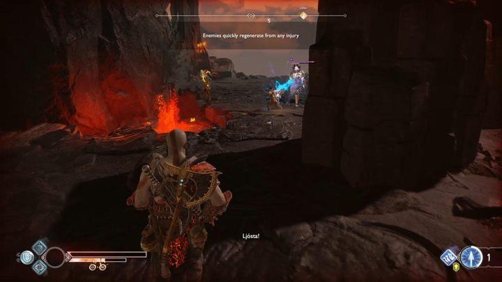 Цель: победить врагов - быстрее восстанавливаться - Muspelheim in God of War - God Of War - Game Guide and Walkthrough