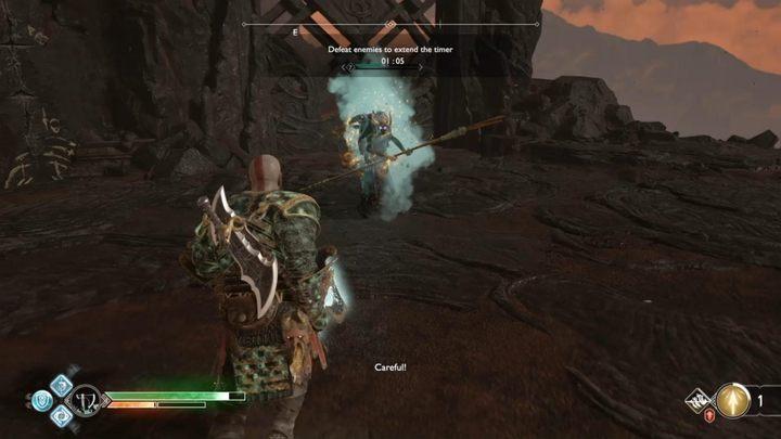 Цель: убить врагов, чтобы продлить время - Muspelheim в God of War - God Of War - Game Guide