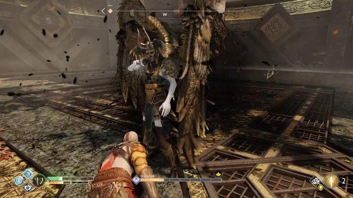 Расположение: труп Тамуры, в скрытой камере - Walkiry в God of War - God Of War - Game Guide и Walkthrough
