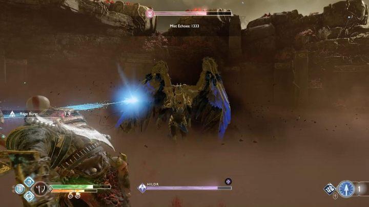 Местоположение: Нифльхайм, в конце лабиринта - Walkiry в God of War - God Of War - Game Guide и Walkthrough