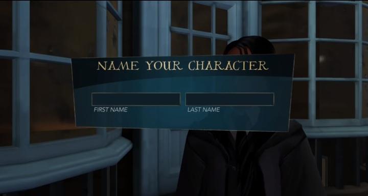 Imię i nazwisko swojej postaci musisz podać podczas pierwszego dialogu toczącego się w rozgrywce - Tworzenie postaci w Harry Potter i Tajemnica Hogwartu - Harry Potter i Tajemnica Hogwartu - poradnik do gry