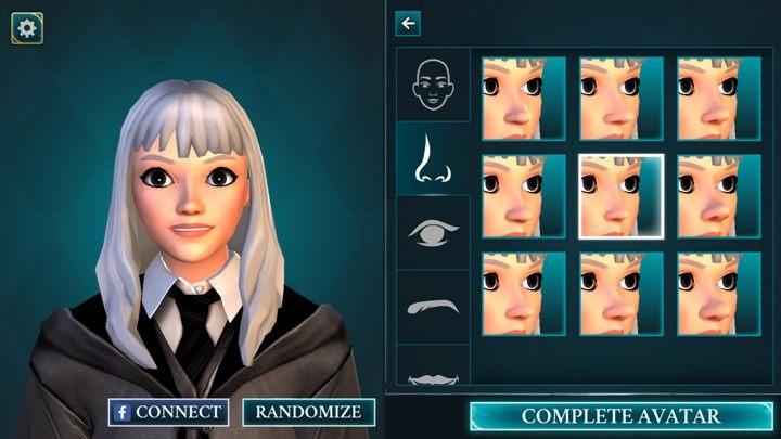 Możesz wybrać jeden z 9 przygotowanych modeli nosa - Tworzenie postaci w Harry Potter i Tajemnica Hogwartu - Harry Potter i Tajemnica Hogwartu - poradnik do gry