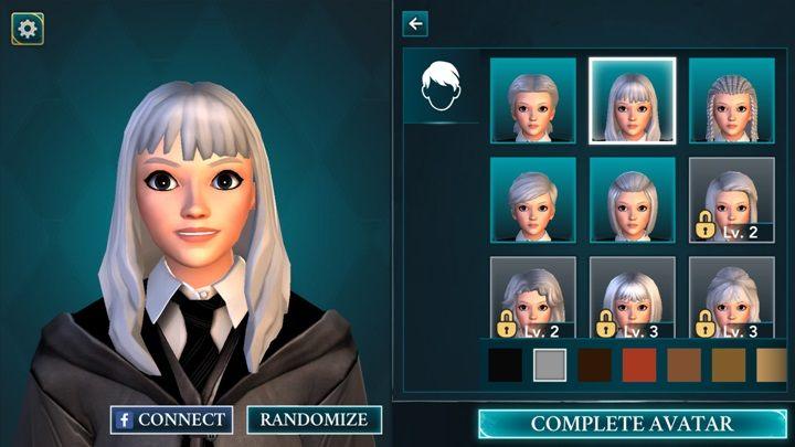 Na samym początku gry możesz dobrać fryzurę dla swojej postaci - Tworzenie postaci w Harry Potter i Tajemnica Hogwartu - Harry Potter i Tajemnica Hogwartu - poradnik do gry