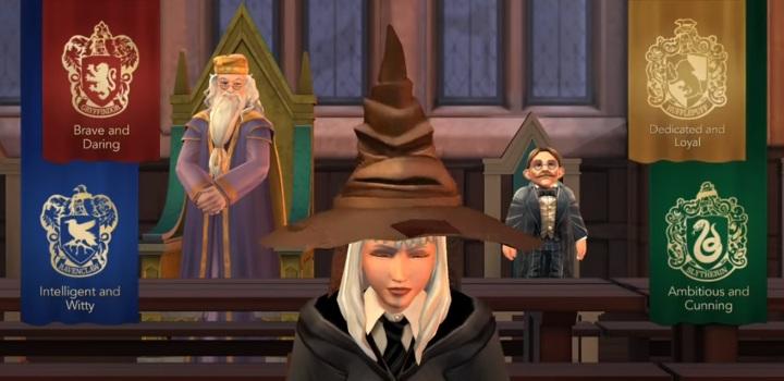 W pierwszych minutach rozgrywki w grze mobilnej Harry Potter: Hogwarts Mystery możesz wybrać dom dla swojego bohatera - Wybór domu w Harry Potter i Tajemnica Hogwartu - Harry Potter i Tajemnica Hogwartu - poradnik do gry