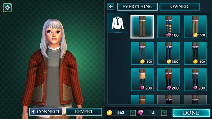 Ubranie możesz zmienić w każdej chwili - Wybór ubrań w Harry Potter i Tajemnica Hogwartu - Harry Potter i Tajemnica Hogwartu - poradnik do gry