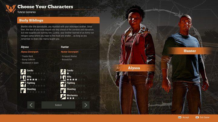 Rodzeństwo Alyssa i Hunter są kolejnym bezpiecznym wyborem - Których bohaterów wybrać w State of Decay 2? - State of Decay 2 - poradnik do gry