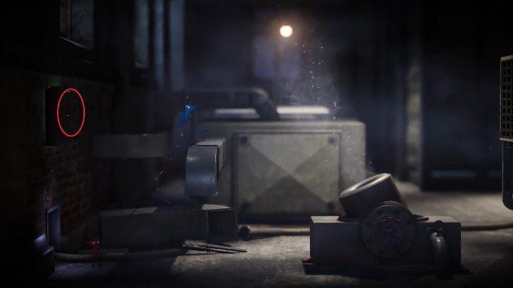 Kolejny sekret znajdziesz poruszając się w szybie wentylacyjnym, jest on zamknięty w szafce na ścianie - Sekrety w Foreign Shore and Hideaway - poziom 1 i 2 - Unravel 2 - poradnik do gry