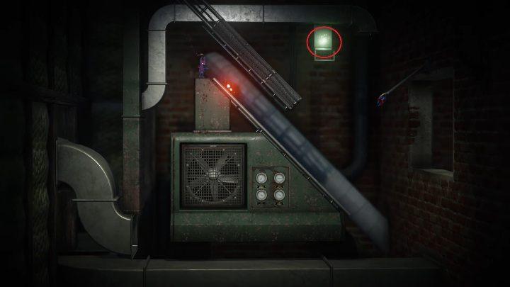 Piątą znajdzkę zdobędziesz wychodząc z szybu wentylacyjnego - Sekrety w Foreign Shore and Hideaway - poziom 1 i 2 - Unravel 2 - poradnik do gry