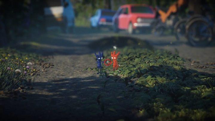 Po włączeniu trzeciego poziomu odpali się cutscenka - Sekrety Little Frogs - poziom 3 Unravel 2 - Unravel 2 - poradnik do gry