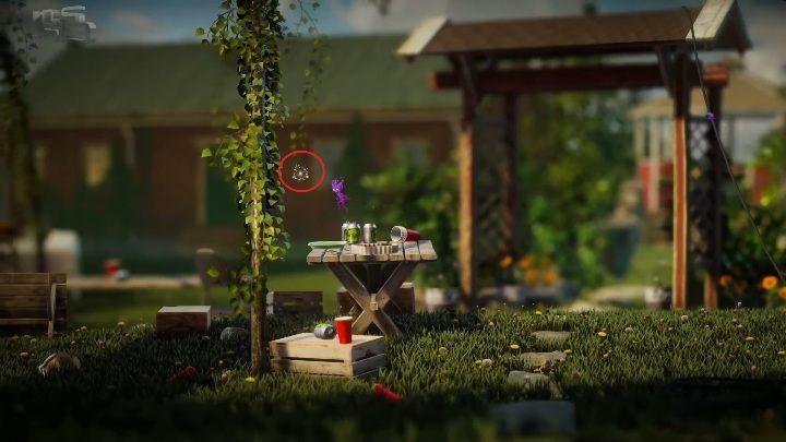 Pierwszy sekret znajdziesz na stole - Sekrety Little Frogs - poziom 3 Unravel 2 - Unravel 2 - poradnik do gry