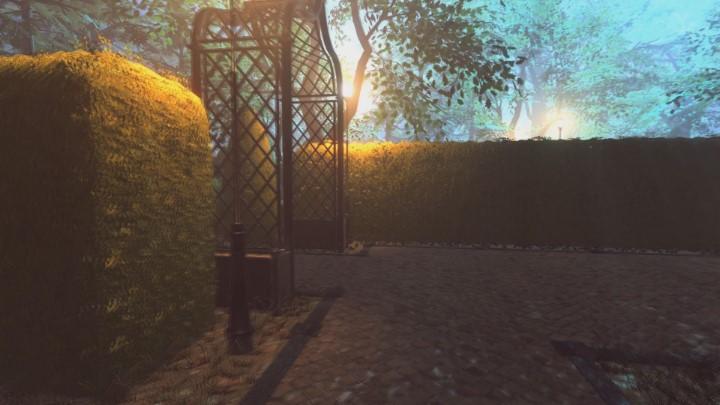 Na końcu drogi skręć w lewo, a potem od razu w prawo - Ogród posiadłości Yelvertonów - solucja Lust for Darkness - Lust for Darkness - poradnik do gry