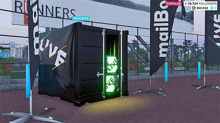 Po dotarciu do centrum dowodzenia zlokalizuj kontener ze skrzynkami z łupem - przykładowy jest na obrazku - Gdzie znaleźć niezabrane części (skrzynka pocztowa) w The Crew 2? - The Crew 2 - poradnik do gry