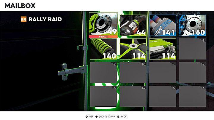 Wejdź w interakcję z kontenerem - Gdzie znaleźć niezabrane części (skrzynka pocztowa) w The Crew 2? - The Crew 2 - poradnik do gry