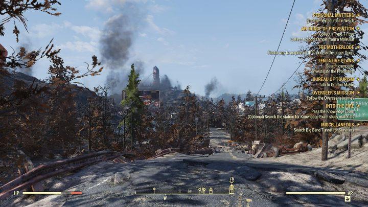 W prawej części ekranu odnajdziesz aktualnie wykonywane misje. Jak widać, może być ich sporo. - Czy w Fallout 76 są misje? - Fallout 76 - poradnik do gry