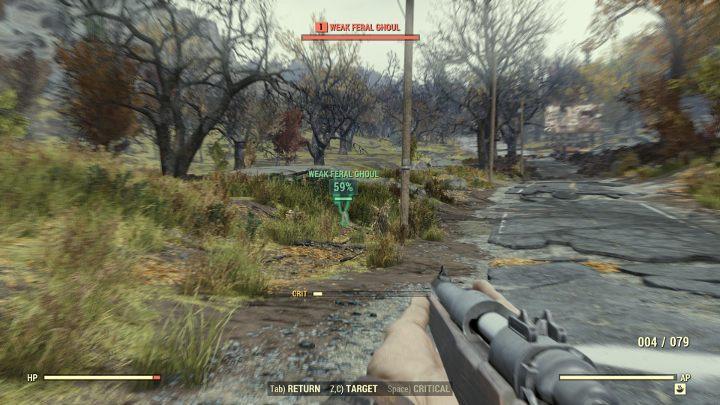 Wygląd V.A.T.S. się nie zmienił, ale spowolnienia czasu już nie zobaczymy. - Jak działa V.A.T.S. w Fallout 76? - Fallout 76 - poradnik do gry