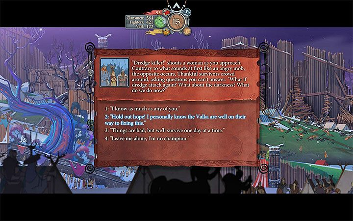 Rodzaj trofeum: srebrne - Lista trofeów w The Banner Saga 3 - The Banner Saga 3 - poradnik do gry