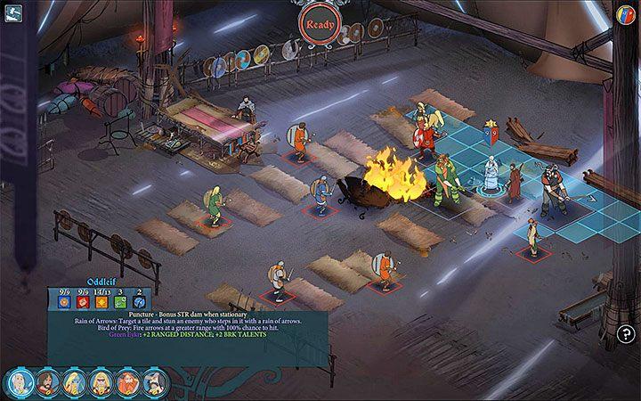 Do większości bitew możesz się przygotować i zawsze warto korzystać z tej opcji - Walka w The Banner Saga 3 - The Banner Saga 3 - poradnik do gry