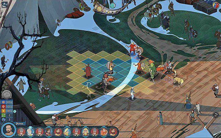 Ogólne założenia systemu walki pozostały w The Banner Saga 3 praktycznie niezmienione - Walka w The Banner Saga 3 - The Banner Saga 3 - poradnik do gry