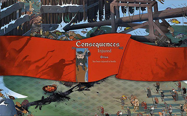 System zadawania i otrzymywania obrażeń jest kolejnym, który w The Banner Saga 3 nie doczekał się żadnych znaczących zmian - Walka w The Banner Saga 3 - The Banner Saga 3 - poradnik do gry