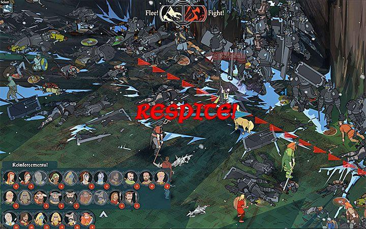 Bitwy składające się z kilku faz to ważna nowość w grze The Banner Saga 3 - Walka w The Banner Saga 3 - The Banner Saga 3 - poradnik do gry