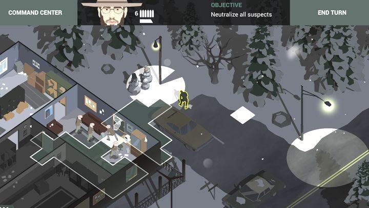 Podejrzany patrolujący okolice smochodu. - Misje taktyczne w grze This is the Police 2 - This is the Police 2 - poradnik do gry