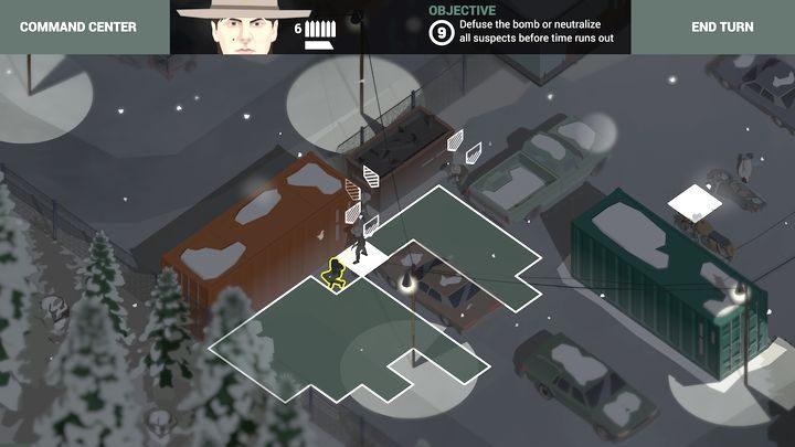 Grupa oczyszczająca dziedziniec. - Misje taktyczne w grze This is the Police 2 - This is the Police 2 - poradnik do gry