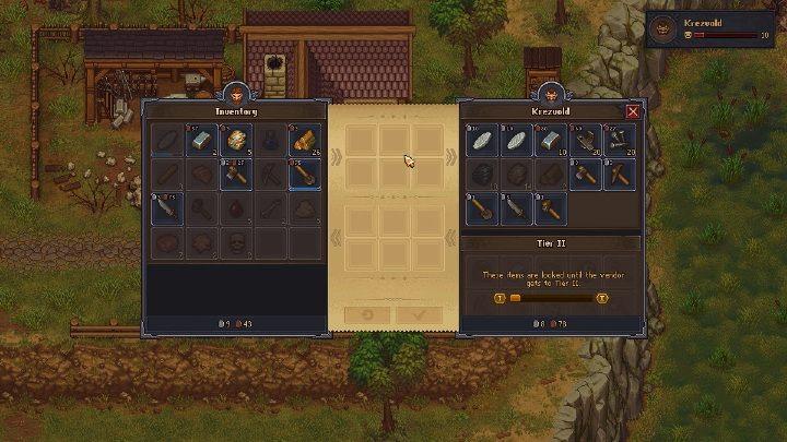 Żelazo w grze Graveyard Keeper możesz sprzedać u kowala jako kawałki wydobytego surowca - ich cena to około 9 brązowych monet - Jak i gdzie wydobywać żelazo w grze Graveyard Keeper? - Graveyard Keeper - poradnik do gry