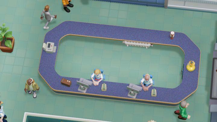 Pomieszczenie, którym możesz zastąpić obiekt o tej samej nazwie - Gabinety i pomieszczenia w Two Point Hospital - Two Point Hospital - poradnik do gry