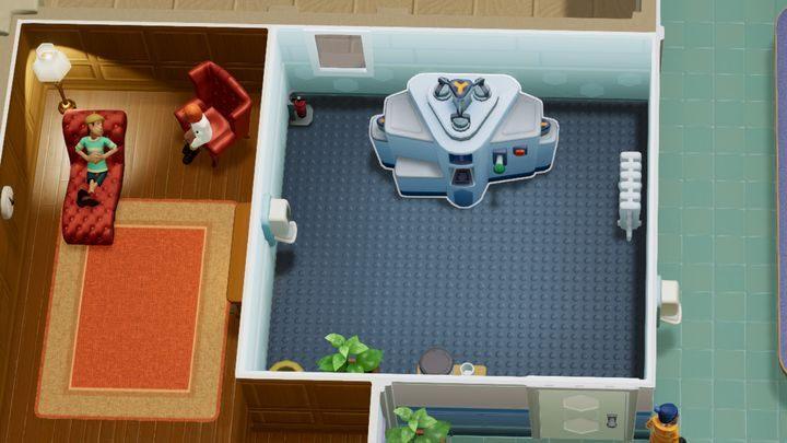 Miejsce leczenia najbardziej podstawowych chorób takich jak np - Gabinety i pomieszczenia w Two Point Hospital - Two Point Hospital - poradnik do gry