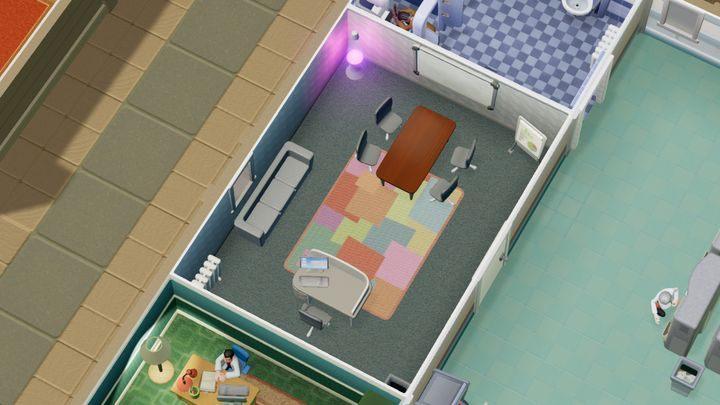 Dzięki temu pomieszczeniu możesz poprawić swoją reputację - Gabinety i pomieszczenia w Two Point Hospital - Two Point Hospital - poradnik do gry
