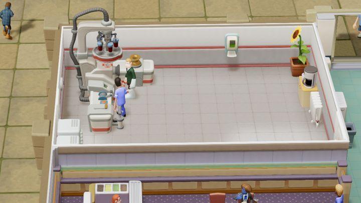 Zaawansowane pomieszczenie diagnostyczne - Gabinety i pomieszczenia w Two Point Hospital - Two Point Hospital - poradnik do gry