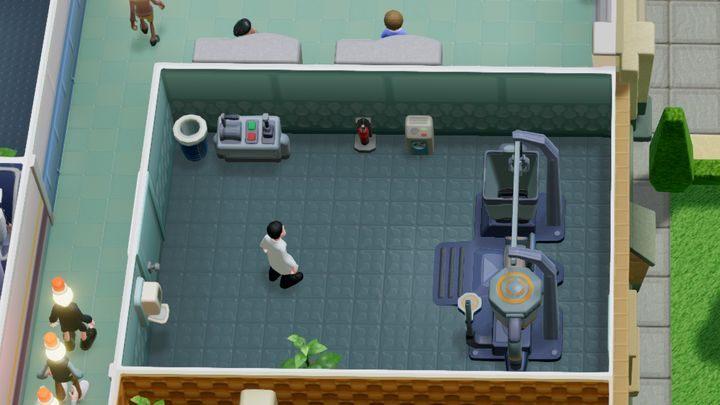 Pomieszczenie przeznaczone tylko i wyłącznie do leczenia pomroczności jasnej - Gabinety i pomieszczenia w Two Point Hospital - Two Point Hospital - poradnik do gry