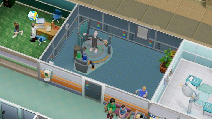 Jest to pomieszczenie przeznaczone do leczenia popielactwa - Gabinety i pomieszczenia w Two Point Hospital - Two Point Hospital - poradnik do gry