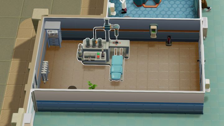 Jest to kolejne pomieszczenie lecznicze, które cieszy się zawsze podobnym zainteresowaniem - Gabinety i pomieszczenia w Two Point Hospital - Two Point Hospital - poradnik do gry