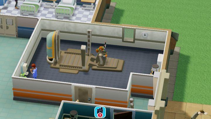 Pomieszczenie przeznaczone do leczenia magnetyzmu zwierzęcego - Gabinety i pomieszczenia w Two Point Hospital - Two Point Hospital - poradnik do gry