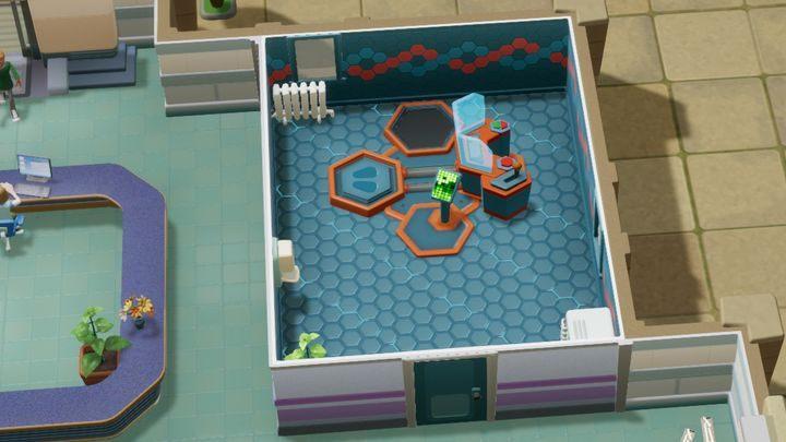 Służy do celów diagnostycznych i leczniczych - Gabinety i pomieszczenia w Two Point Hospital - Two Point Hospital - poradnik do gry