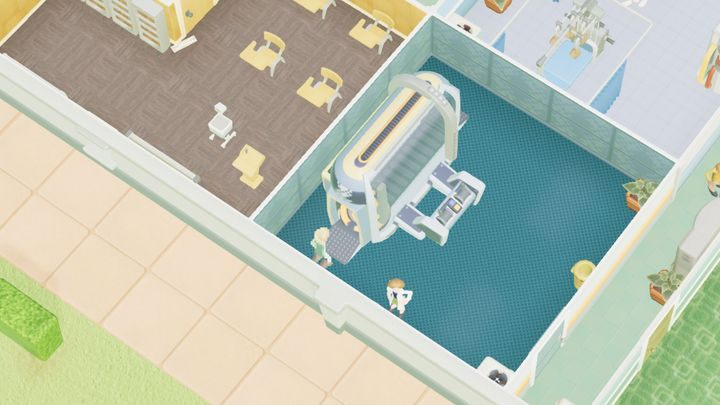 Jest to pomieszczenie przeznaczone do leczenia piskelozy - Gabinety i pomieszczenia w Two Point Hospital - Two Point Hospital - poradnik do gry
