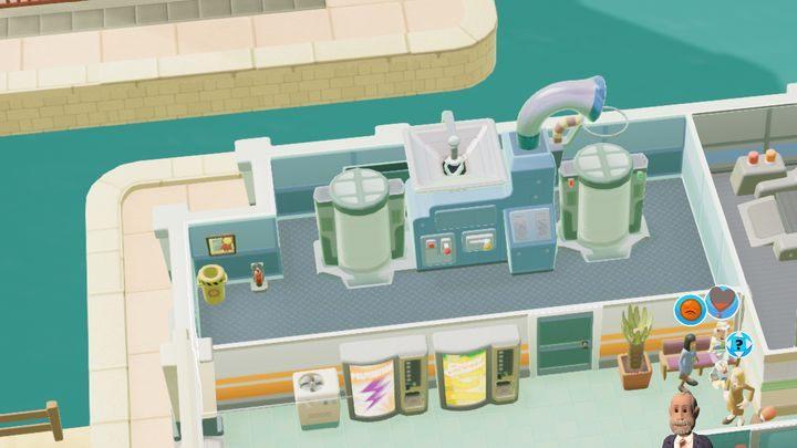 Pomieszczenie przeznaczone do leczenia kubizmu - Gabinety i pomieszczenia w Two Point Hospital - Two Point Hospital - poradnik do gry
