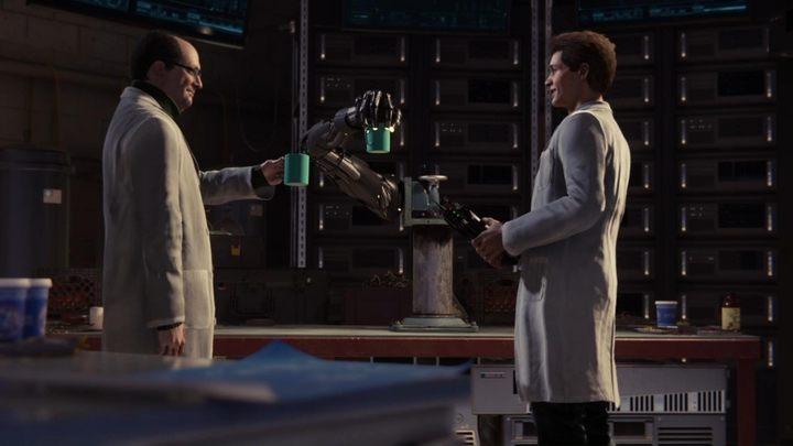 Czeka cię krótka wstawka filmowa, w której Dr - Nowy Początek - Solucja Marvels Spider-Man - Marvels Spider-Man - poradnik do gry